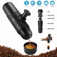 Mini Manual Portable Coffee Maker Espresso Handheld Coffee Machine Travel #T