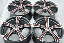 16 Drift Wheels Rims Prius V Soul Forte iM Eclipse Civic Tiburon Elantra 5x114.3