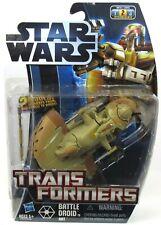 New Sealed Hasbro Transformers Star Wars Clone Wars Battle Droid To AAT 2012 #2