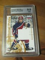 2004 05 ITG Heroes & Prospects National Pride #NAT 4 Alex Ovechkin Graded    ZH1