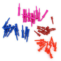 lot 40 Mixed Colors 4-SIZE Plastic  Castle Golf tees Height Control