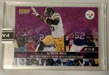 Le'Veon Bell 2016 Panini Instant NFL Card 310 Purple /10 Breaks Steelers Rushing