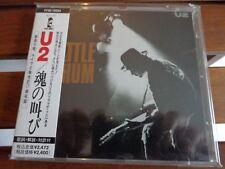 U2 -RATTLE AND HUM - CD ORIGINAL PRESS JAPAN - OBI + INSERT