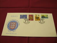 1973 Jersey Channel Islands First Day Cover / FDC - Societe Jersiaise