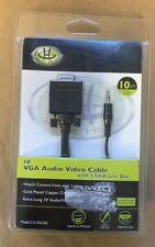 Gear Head VGA AV Cable 10ft CA10VGAS *New*