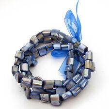 Blue Sea Shell Beads Three Layer Bracelet-Fashion Style-Wrist Jewelry