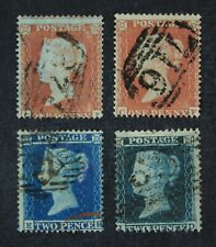 CKStamps: Great Britain Stamps Collection Scott#8-10 Victoria Used