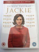 Jackie DVD Natalie Portman FREEPOST VGC