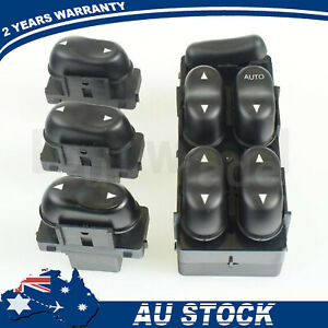 Set Master Window Control Switch+3 Single For Ford Fairmont Fairlane 1003946 NEW