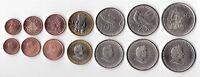 COOK ISLANDS - 7 DIF UNC COINS SET: 1 CENT - 1$ 2010 YEAR BIMETAL
