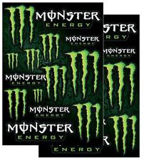MONSTER ENERGY Sticker Sheet Decal Kit Dirt Bike MX Motocross BMX ATV MTB 2PACK