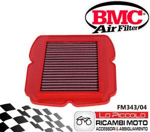 FM343/04 FILTRO ARIA BMC SUZUKI SV 650 2009 2010 SPORTIVO LAVABILE RACING