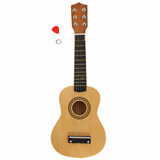 21 inch Mini Acoustic Guitar Music Instrument String Wood Color