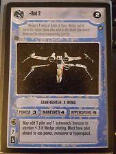 Star Wars CCG BB A New Hope Limited Red 2 NrMint-MINT