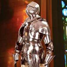 MUSEUM REPLICAS Gothic Suit of Armor  1:1 scale Life-Size - Hand-Forged NEW