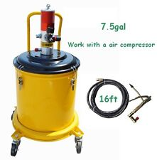 7.5Gallon 30L Air Pneumatic Compressed Grease Pump Gun Heavy Duty High Pressure