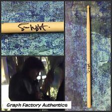 GFA AC/DC Drummer * SIMON WRIGHT * Signed Autograph Drumstick PROOF S1 COA