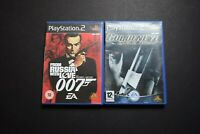 Goldeneye Rogue Agent/From Russia With Love Bundle PlayStation Two PS2 UK PAL
