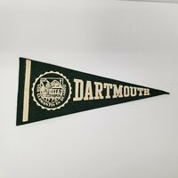 "Vintage Dartmouth University 9"" Pennant, Alumni Collectible"