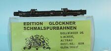 Glöckner H0e Altbau-Rollwagen 4-achsig der DR Epoche 3/4 neuwertig in OVP