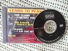 Learn to Play - The Clash, The Eagles, Oasis (Total Guitar) (CD, 2000) B16