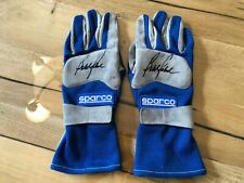 Bobby Rahal Race Used Worn Gloves Indycar Indy 500 Champion Sparco