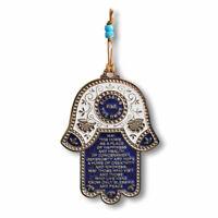 "Brass Moroccan Hamsa Gold Tone Wall Decoration Handmade Double Hamsa  5/"" Gift"