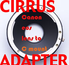 Canon eos lens to C-mount Scope adapter