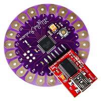 Iduino LilyPad168 ATmega168 main board with FTDI FT232RL USB serial adaptor