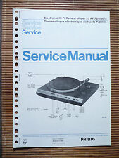 Service Manual für Philips 22 AF 729  ,ORIGINAL