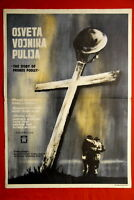 STORY OF PRIVATE POOLEY 1960 RARE EXYU MOVIE POSTER