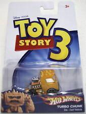 "TURBO CHUNK Disney Toy Story 3 Hot Wheels 2"" inch Die Cast Vehicle 2009"