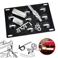 Bumper Tow Hook License Plate Mounting Bracket For For BMW E82 E90 E92 X5 X6