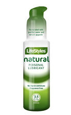 Lifestyles Natural Desire Personal Lubricant 3.5 oz