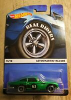 Hot Wheels 2014 Real Riders Set Aston Martin 1963 DB5