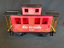 Rio Grande 4067 Caboose G Scale Train Car EZtec