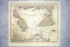 RIZZI-ZANNONI. SICILIA. SARDINIA. CORSICA. MALTA. HOMMANIANIS HEREDIBUS. 1762.