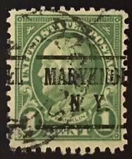 Maryknoll, New York Precancel - 1 cent Franklin (U.S. #552-type) NY