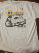 ron capps race car napa shirt signed autographed