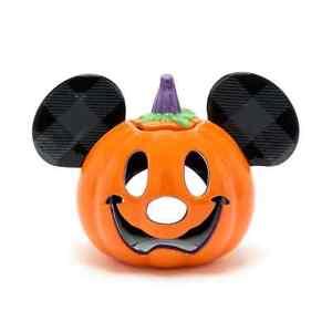 **Walt Disney World - Micky Maus - Teelicht-Halter in Kürbisform Halloween**