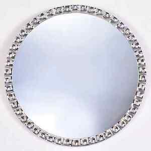New Gorgeous & Beautiful Wall Hanging Jewel Round Mirror Modern Home Decor M-21