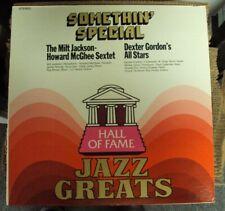 MILT JACKSON-HOWARD MCGHEE SEXTET/DEXTER GORDON'S ALL STARS LP OOP jazz
