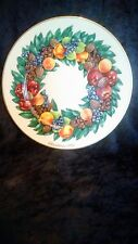 Lenox 1988 Colonial Christmas Wreath Plate Delaware The Eighth Colony