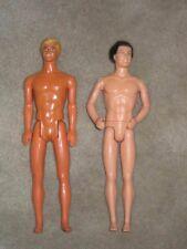 Two Nude Superstar era Kens