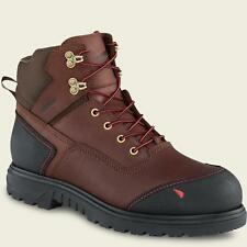 Red Wing 454 Mens Brown Waterproof Leather MADE IN THE USA WorkBoots