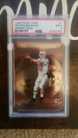1998 Press Pass Trophy Case PEYTON MANNING RC Rookie Card #1 Mint PSA 9