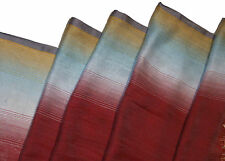 PAUL SMITH MULTICOLORED SOFT LIGHTWEIGHT SILK / VISCOSE SCARF BNWT RARE SOLD OUT