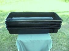 """New !!!  10 pcs  35 1/4"""" Long x 15 1/4"""" wide Hydroponic Growing Trays With Lids"""