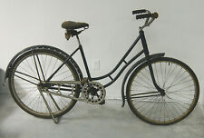 Elgin step-thru bike with A-frame stand and skip-tooth drive-train (1910?)
