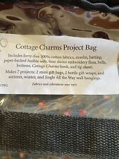Cottage Charms Project Bag Art To Heart